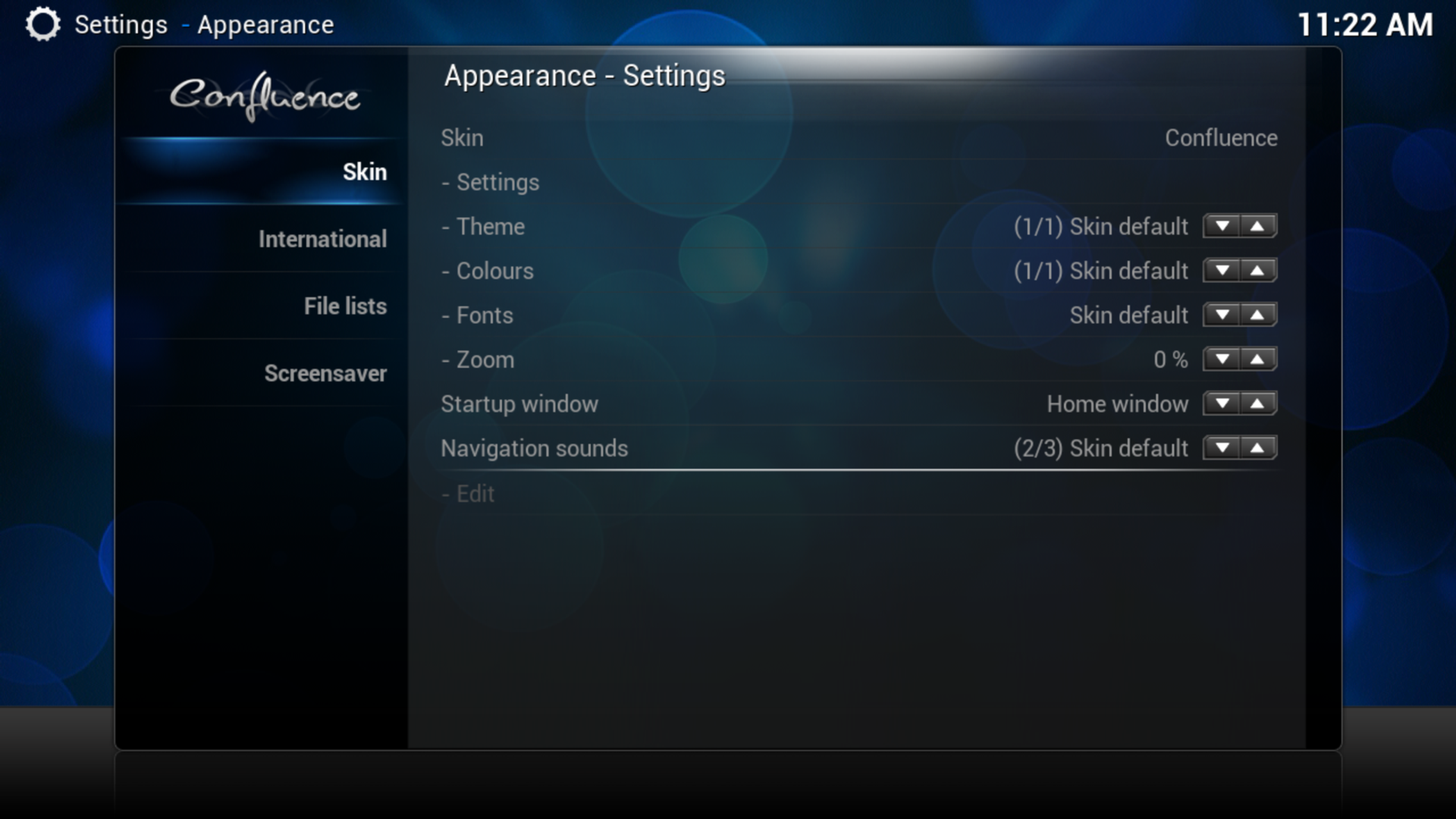Xbmc Network Buffer Screenshot
